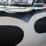 Rear seat cover w/emblem