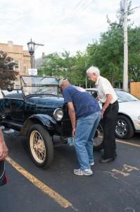 Crank starting a 1926 T-Model