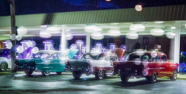 '55 Ford & Chevy's
