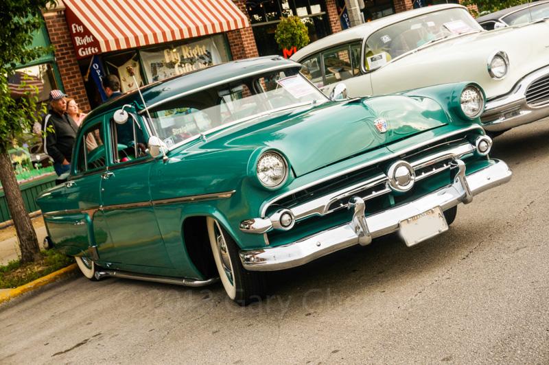 1954 Ford Customline   Gary Ghertners Time Machine