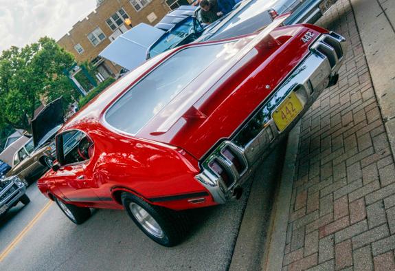 1970 Olds Cutlass 4-4-2