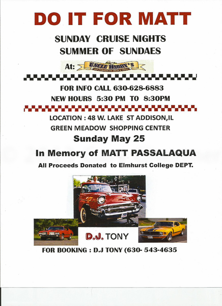 Show Flyer & Contact Information