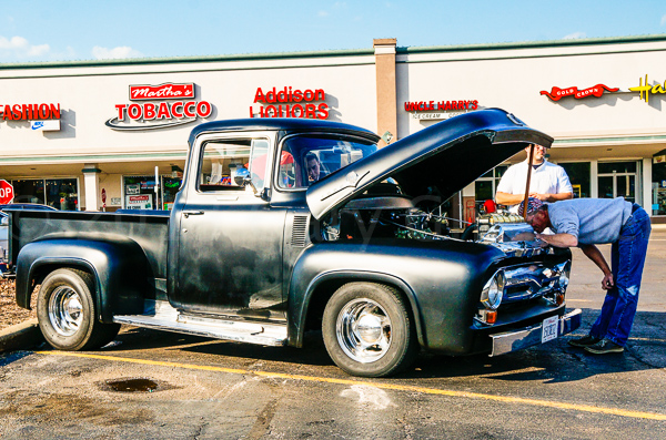 50s Ford Pickup