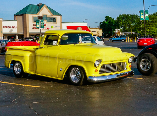 Pete's 1/2 ton Chevy Pickup